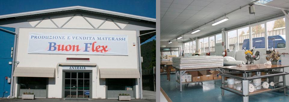 Il punto vendita e il laboratorio artigianale
